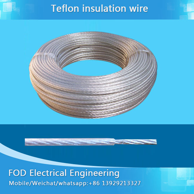 Manufactur standard High Temperature Wire - UL 1332 Teflon ...
