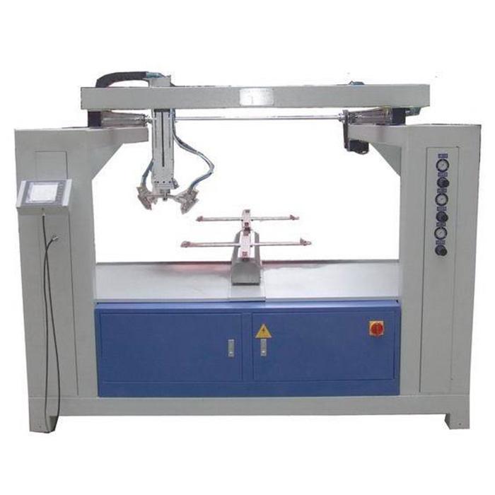 Pabrik harga FOD panas menjual otomatis 5 aksial mesin cat semprot Unggulan Gambar