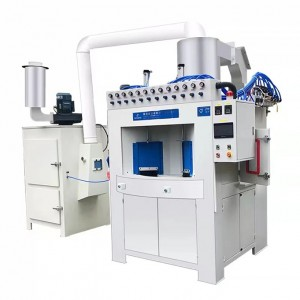 Non Stick pans sandblasting machine