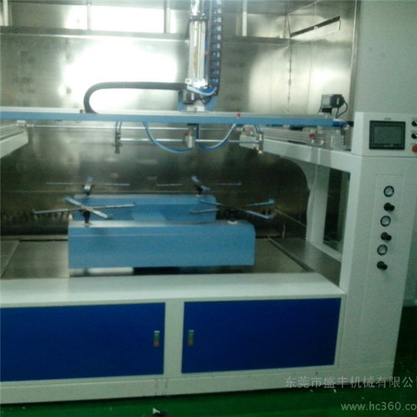 2018 the latest Five Axis reciprocating spray painting machine for clock frame