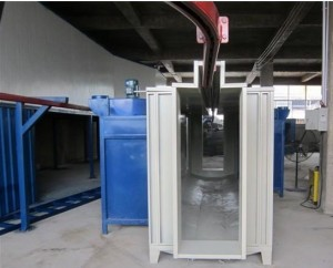 Spray Powder coating Drying Oven