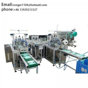 2020 March the newest design1+2  FM-K04 Automatic face mask production line