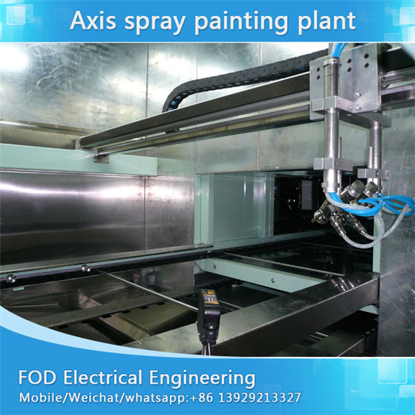 5 Axis reciprocating spray painting line for car surface wood panel Featured Image