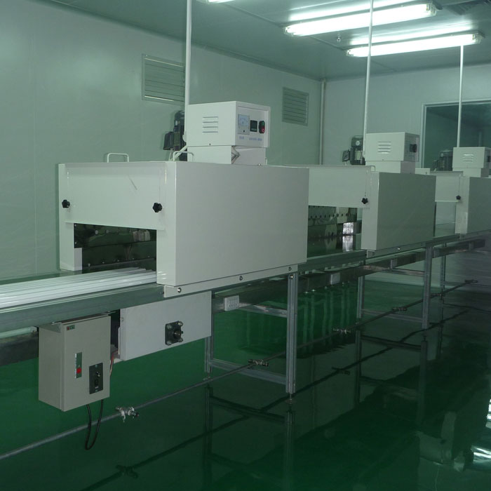 Liquid Painting Line Tunnel Type IR Drying Oven Featured Image