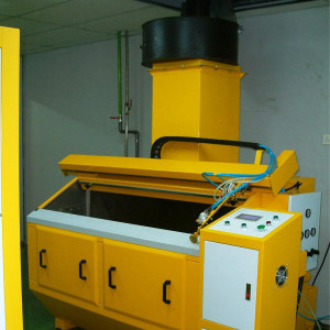 single axis spraying painting machine