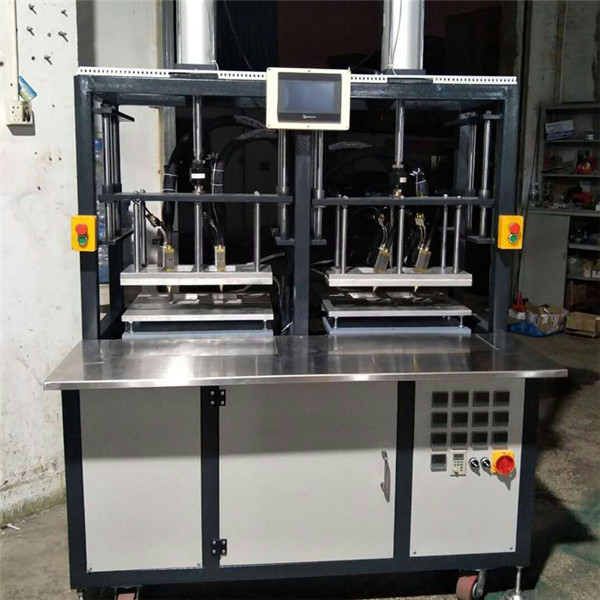 Hot melt adhesive injection molding machine for breast pasty