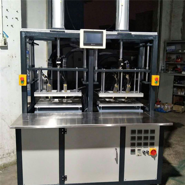 Hot melt glue injection molding machine for nude bra