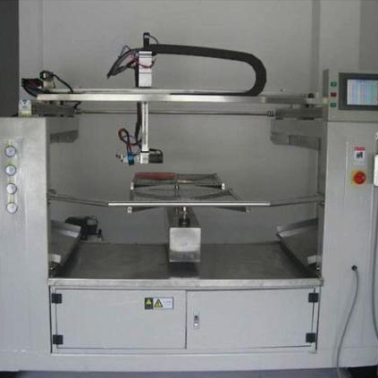 Oversea instalar free Automatic painting machine uban sa 2 disc / 4 disc