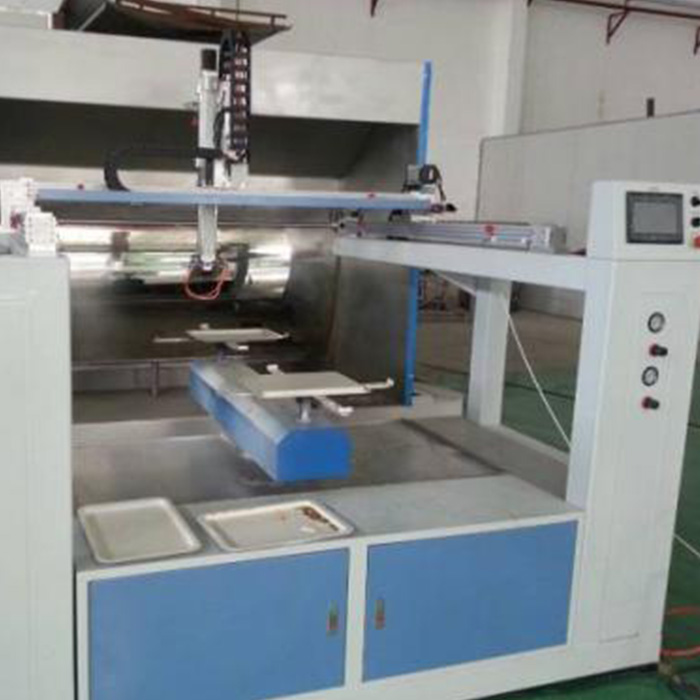 Trending Products Vegetable Processing Line - Oversea installation free Five Axis reciprocating spray painting machine with 2 disc/4 disc – FOD Electrical Eng