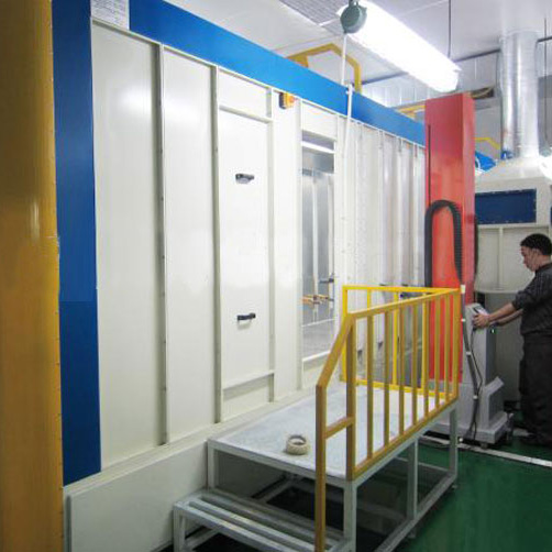 Powder coating spray painting hot air circulation drying oven
